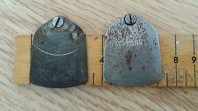 2 Vintage Sewing Machne Side Plate Covers - See Picture For Details