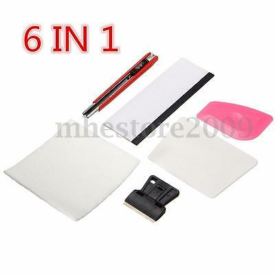 6 IN 1 Window Tools For Window  Film Tint Fitting Kit Tingting Squeegee Scraper