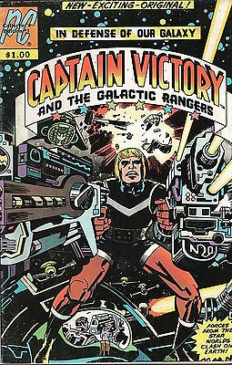 Captain Victory and the Galactic Rangers No.1 / 1981 Jack (King) Kirby