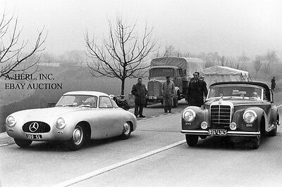 Mercedes-Benz 300 SL (W 194) - 1952 introduction Germany & Mercedes 300 S W188