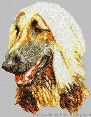 Embroidered Fleece Jacket - Afghan Hound DLE1455 Sizes S - XXL