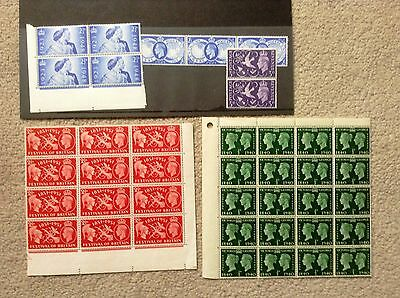 Assorted collection of George VI mint unmounted stamps