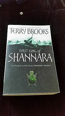 The First King of Shannara by Terry Brooks (Paperback)