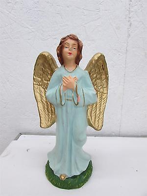 Vintage Christmas Large Composition Standing Nativity Angel Italy 8""