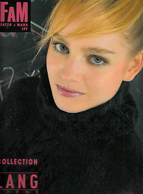 Sublime Catalogue Tricot Fam  Lang Collection  Lang N°177  51 Modeles  Femme