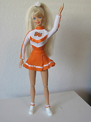Collectable~ Syracuse University Cheerleader Barbie 1997 Special Edition~ Blonde