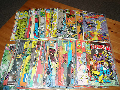 49x 1983 - 1990 DREADSTAR Comic  Run 1-54 ( Missing Total of 7 ) + Annual #1