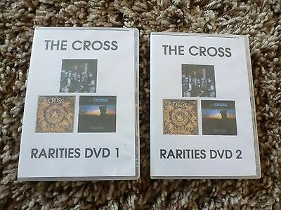 Queen, Freddie Mercury, BRIAN MAY, ROGER TAYLOR, THE CROSS, 3 RARE DVD's, LOOK!