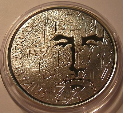 Finland 10 Euro 2007 Mikael Agricola Silver Proof!!!