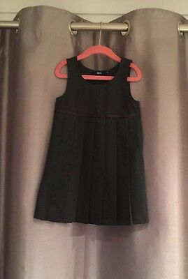 Girls school uniform Winter pinafore grey dress From BHS age 4