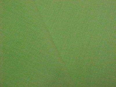Vintage Antique Cotton Quilt Fabric Solid LIME GREEN 1930s Era Sew Material