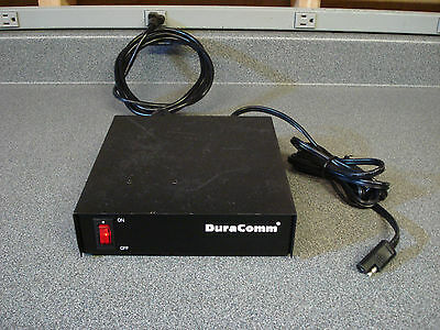 DuraComm LP-14N 13.8VDC 11A Power Supply with Motorola Power Cord