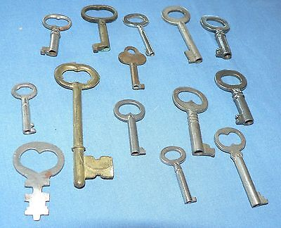 Group of Antique KEYS, Skeleton Shape