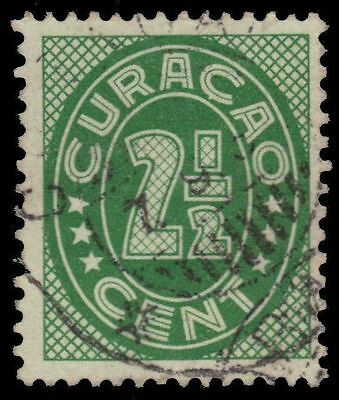 """NETHERLANDS ANTILLES 130 (Mi146A) - Numeral of Value """"1936 Print"""" (pa24383)"""