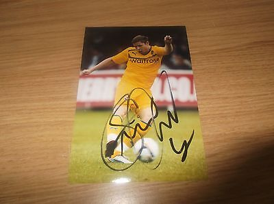 Reading fc Simon Church signed 6x4 action photo