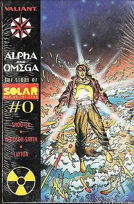 Alpha and Omega The Story of Solar Man of the Atom / US HC / Barry Windsor-Smith