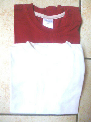 Lot de 2 Tee Shirts manches courtes Taille 18 MOIS  Kom 9