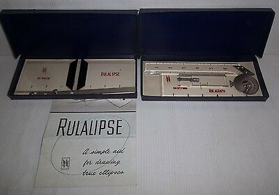 2 VINTAGE HALL HARDING Ltd RULACLIPSE & RULAGRAPH MEASURING RULES