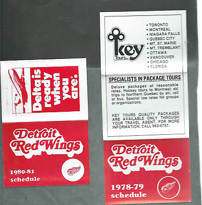 Detroit Red Wings   Hockey  Schedule  Lot