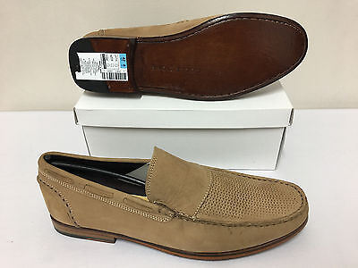 Ex Marks & Spencer's Men's Collezione Mushroom Loafers Shoes Size 8/42 RefA1