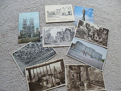 collectable postcards used  set of 9... see picture