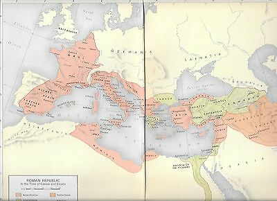 Maps- Roman Republic/ Roman Empire, Etc,  6 Maps- Europe