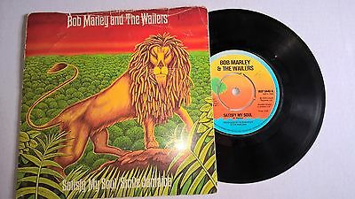 "BOB MARLEY & THE WAILERS - Satisfy my soul / Smile Jamaica - 7"" Vinyl"