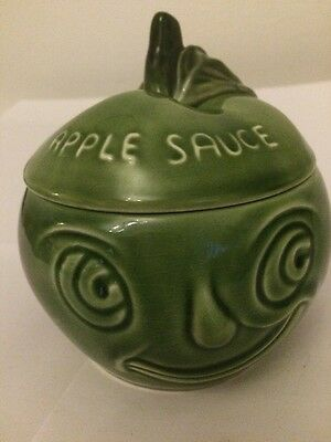 Vintage Sylvac Face Pot in Apple Sauce Design 4549 - perfect for Xmas table