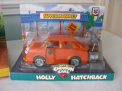 Chevron Cars~Holly Hatchback~With Dog~1997~New In Unopened Package