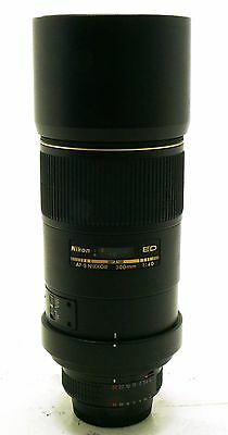 300mm f/4 D Nikkor AF-S ED IF lens Nikon MINT-