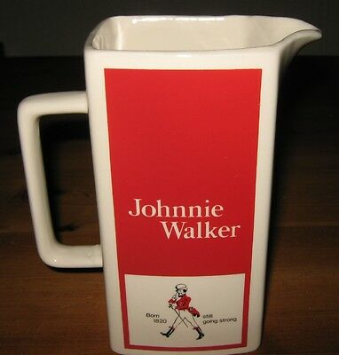 Johnnie Walker Red Label  Scotch  Whisky Water Jug - Wade Rare