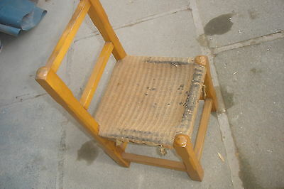 Antique Cute  Collectable Children's Standchair