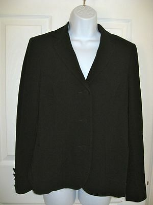 A Pea In The Pod WOMENS Black Maternity Blazer Jacket  SMALL