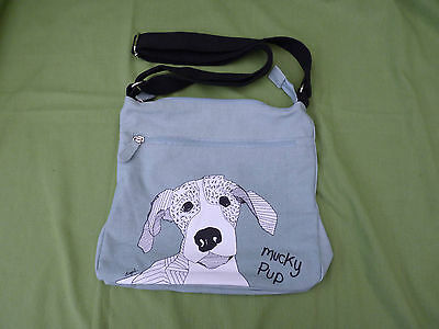 Bag. Shruti Mucky Pup by Casey Rogers. New with labels. adjustable handle
