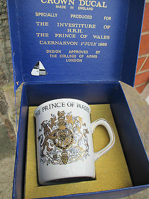 Prince of Wales, investiture Mug.1969