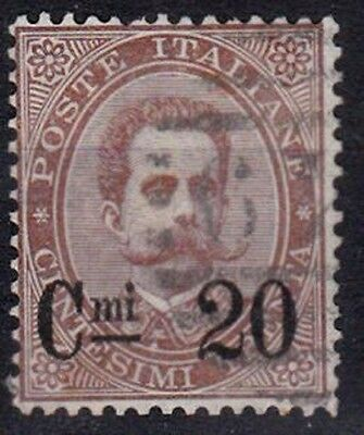 Italy 1890-91 20c on 30c Brown