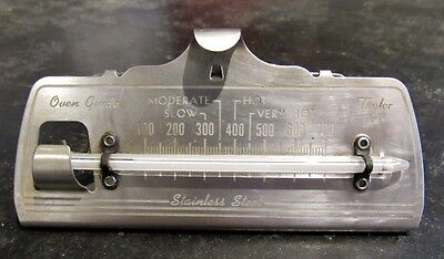 Vintage Taylor Oven Guide Hanging Thermometer