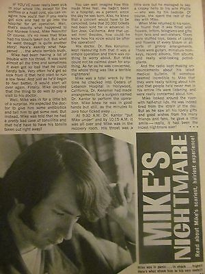 Mike Nesmith, The Monkees, Full Page Vintage Clipping