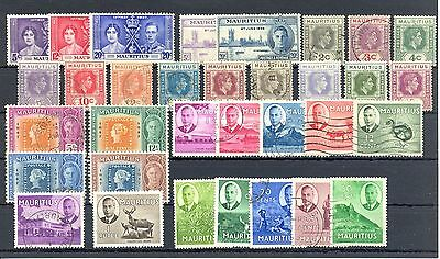 Mauritius   33 Stamps   */0   Most Vf