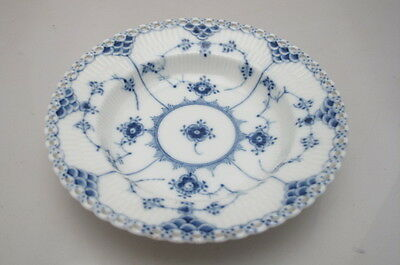 Royal Copenhagen Full Lace 1081 Fluted Porcelain Dish