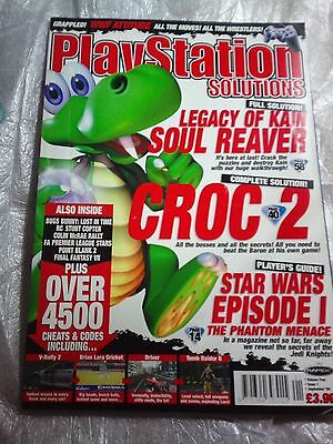 Play Station Solutions, September 1999,  Vol. Four. Issue, 1. 38. Croc 2, Soul R