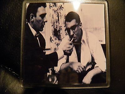 Set Of 4     Kray Twins #3    Drink Coasters  Have A Drink On The Twins !