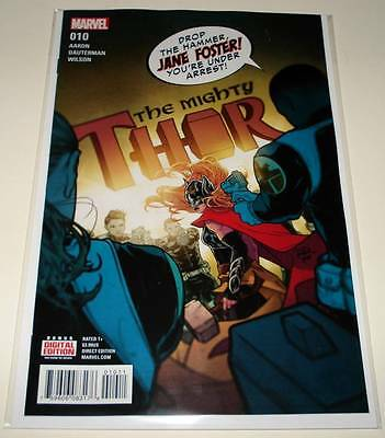 The MIGHTY THOR # 10 Marvel Comic October 2016  NM