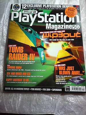 Official Uk, Play Station Magazine 50, October 1999,