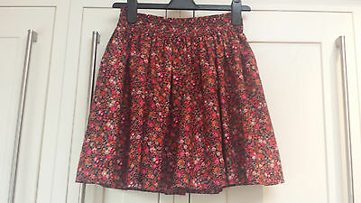 Pretty Girls Next Skater Fully Lined Floral Skirt 12 Years EX CONDITON