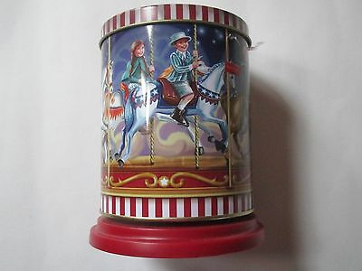 Musical Carousel Biscuit Tin made in germany