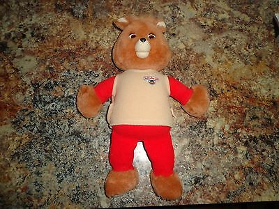 Vintage Teddy Ruxpin Talking Bear 1984~85  AS-IS Untested With Cassette Tape