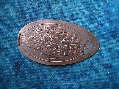 WALT DISNEY WORLD CHIP AND DALE 2015 Elongated Penny Pressed Smashed 4