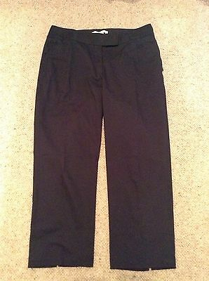 Nike Golf Ladies Capris, Black, U.K. 12, New No Tags