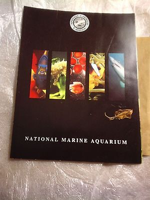 National Marine Aquarium, Special Launch Edition, Plus 4 Cards, Plymouth